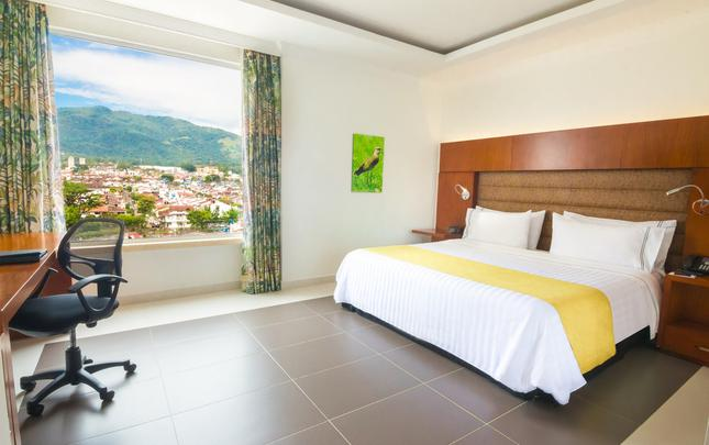 SINGLE KING ROOM GHL Hotel Grand Villavicencio Villavicencio