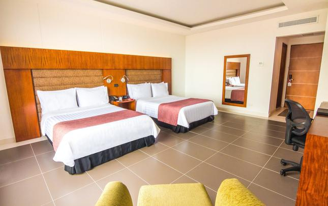 TWIN ROOM - 2 DOUBLE BEDS GHL Hotel Grand Villavicencio Villavicencio